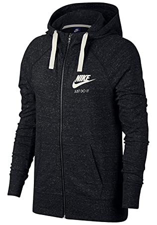 Nike Sportswear Gym Vintage Hoodie Fz Sweat à Capuche Femme  Amazon ... cd021cf9a51