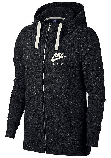 vast selection footwear best online Nike Sportswear Gym Vintage Hoodie Fz Sweat à Capuche Femme