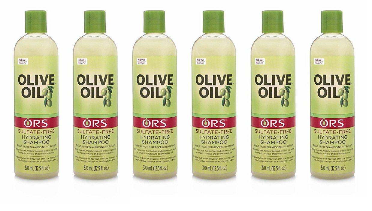 (PACK OF 6) ORS Shampoo Olive Oil Sulfate-Free Hydrating 12.5oz
