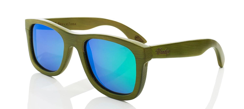 WOODYS Zeus 0, 19 - gafas de sol, unisex, verde, talla 53-23 ...