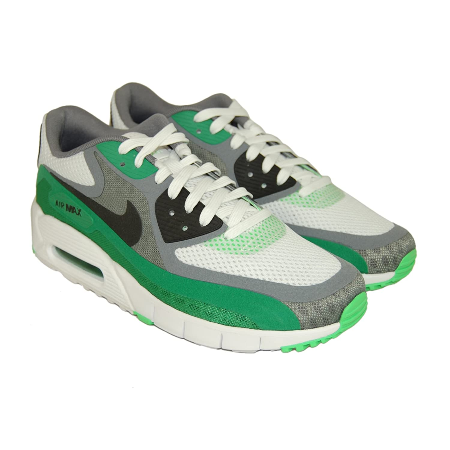 NIKE Men's Air Max 90 Breathe Running Trainers in Green