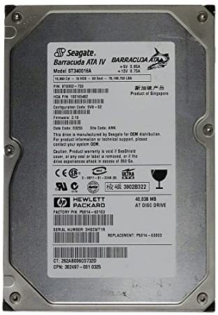 Seagate ST3160318AS - Barracuda 7200.12 - Hard Drive Product Manual Downloadmanlibkse