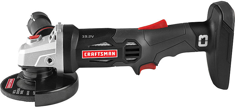 Craftsman C3 19.2-volt 4-1/2-inch Angle Grinder - Tools - Cordless Handheld Power Tools - Grinders