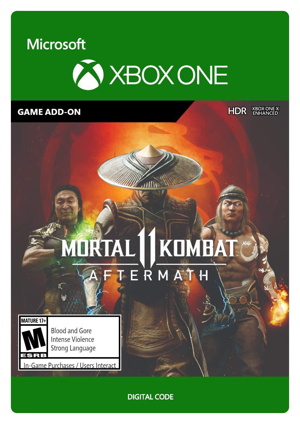 Amazon Com Mortal Kombat 11 Aftermath Xbox One Digital Code