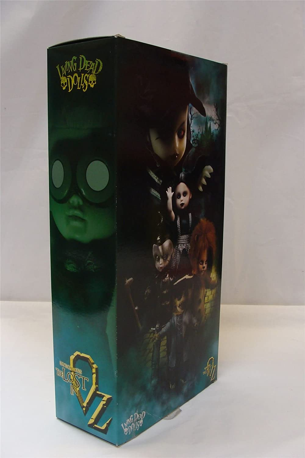 Living Dead Dolls The Lost In OZ Exclusive Emerald City Variant Purdy as The Scarecrow Variant Mezco Toyz SG/_B019IW80C0/_US