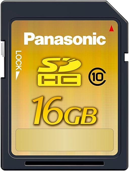 16 Gb SDHC class 10 HIGH SPEED Scheda di memoria per Panasonic Lumix dmc-tz71