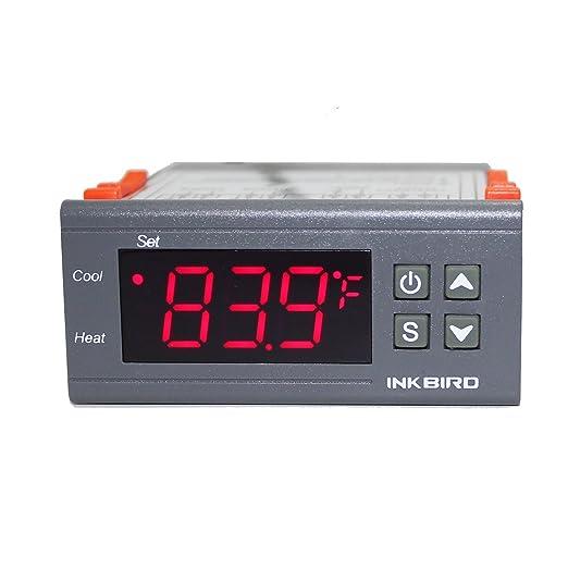 InkBird ITC-1000F Termostato Digital 220V Control de Temperatura ...