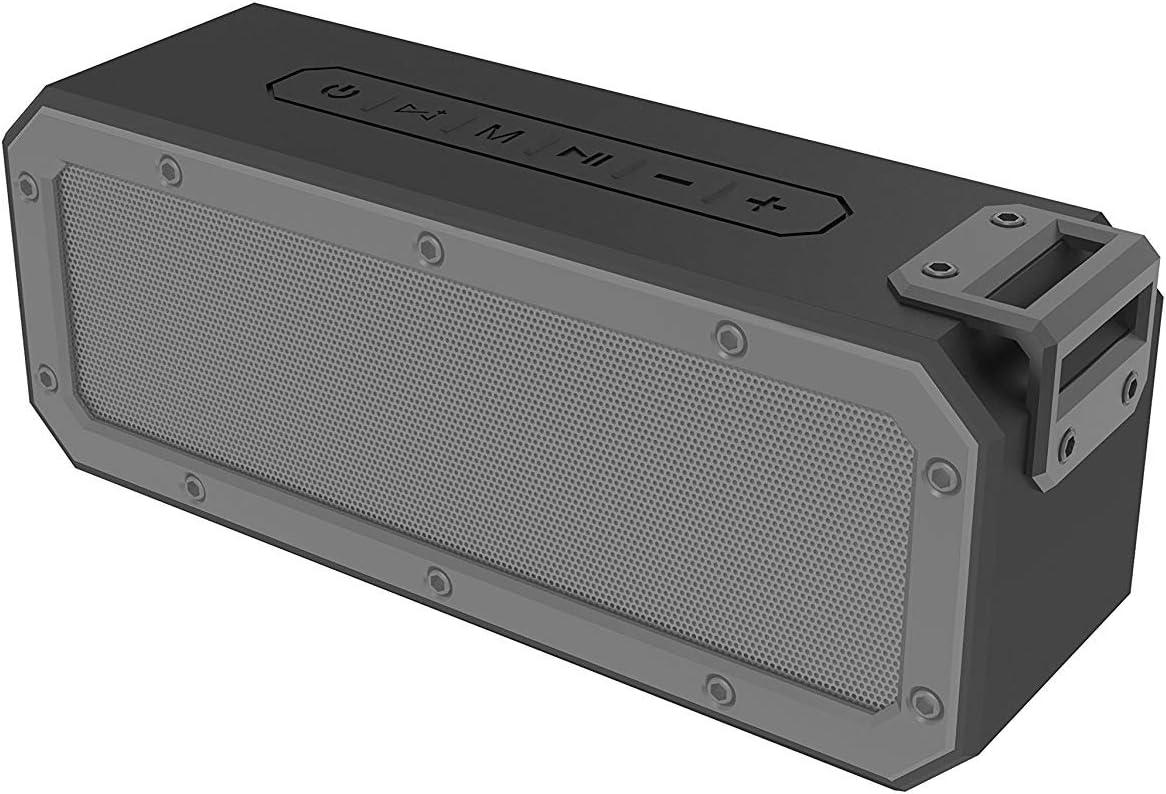 JackMusic Bluetooth 4.2 SYSTEM 40W Altavoz Bluetooth con tiempo de reproducción de 15 horas, emparejamiento estéreo, TWS, IPX 7 a prueba de agua, a prueba de polvo y a prueba de golpes