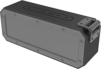 IPX7 Waterproof Dustproof Shockproof Portable TWS 40W Powered Speaker