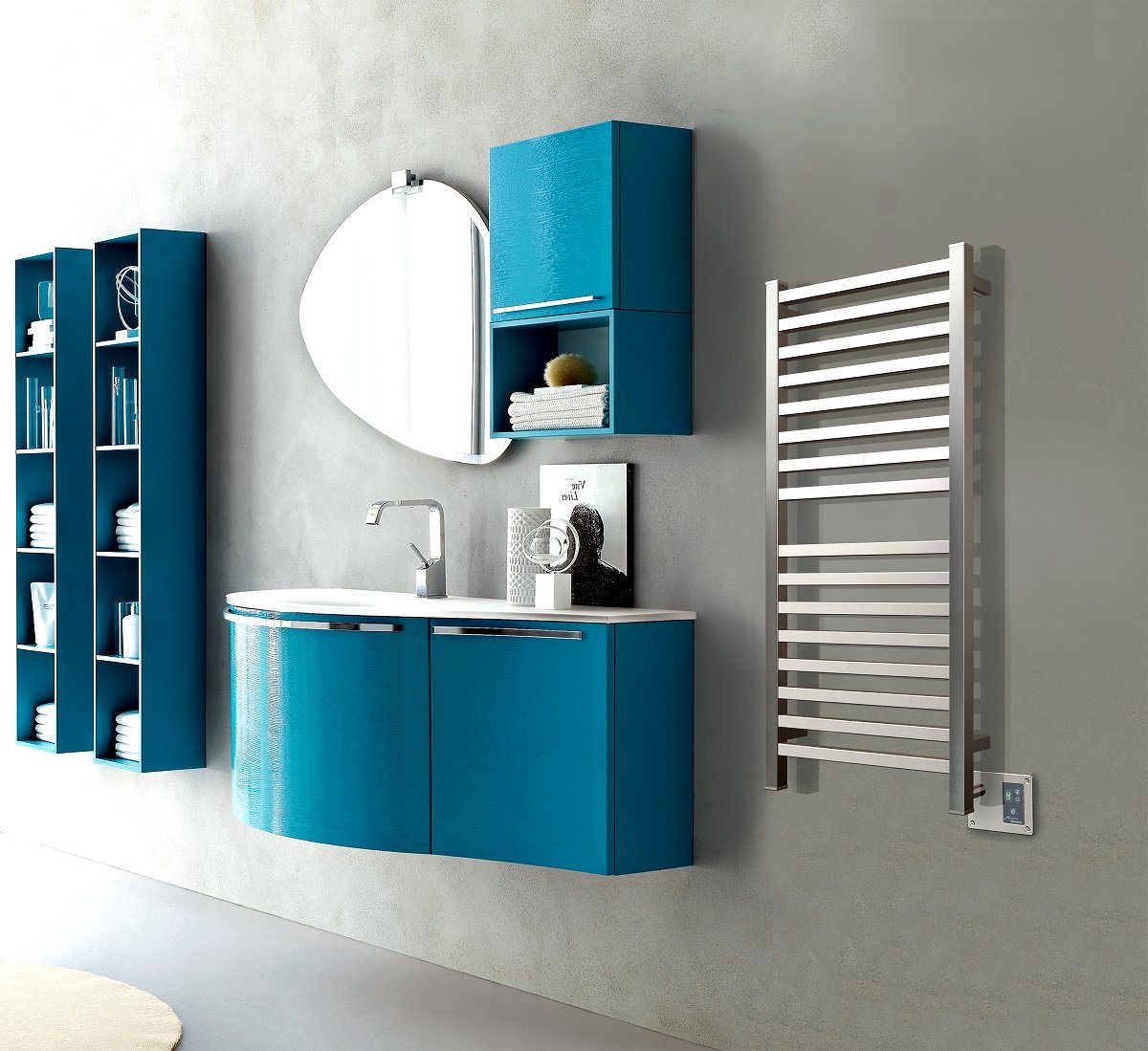 Amazon.com: Amba Q 2042 P Quadro 20-1/2-Inch x 42-Inch Towel ... - Amazon.com: Amba Q 2042 P Quadro 20-1/2-Inch x 42-Inch Towel Warmer,  Polished: Home Improvement