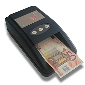 Detector de billetes falsos actualizable profesional. Verifica billetes