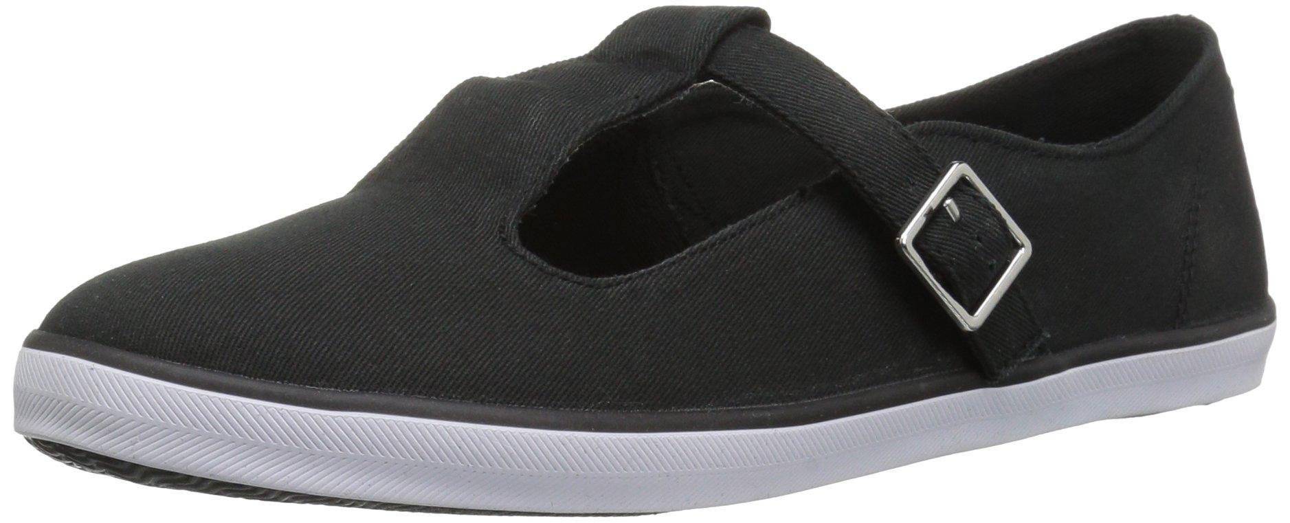 The Children's Place Kids' Sneaker,Black-EBG U TSTRP TWRL,13 M US Little Kid