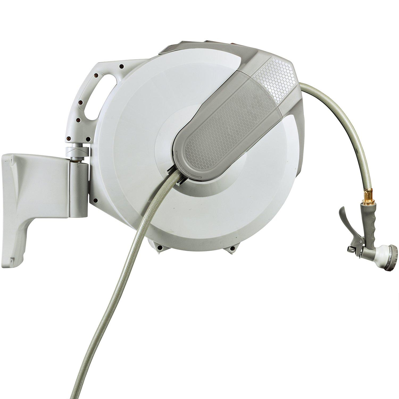 Yardfitter AutoReel Retractable Hose Reel (60 Feet x 5/8'')