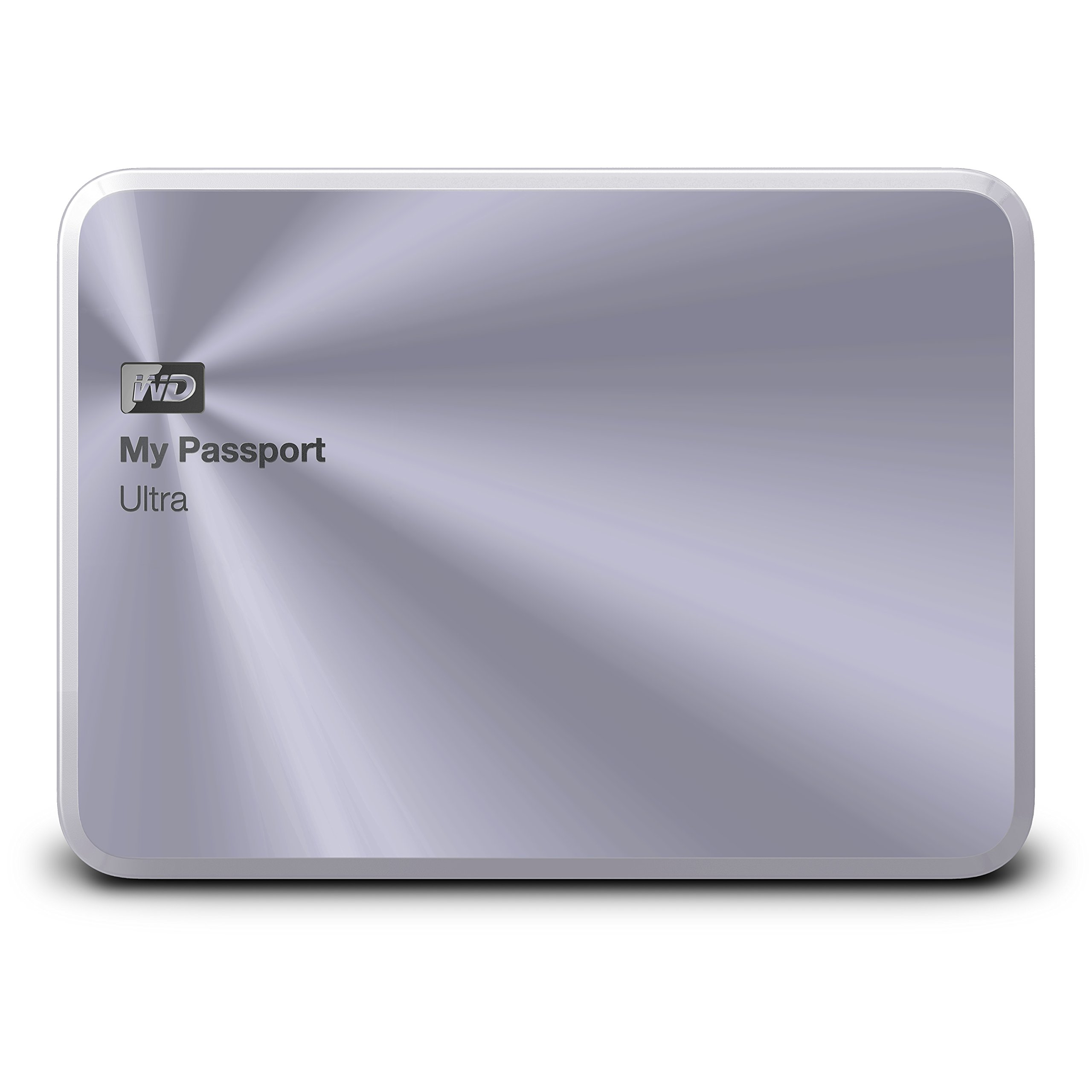 WD 1TB Silver My Passport Ultra Metal Edition Portable External Hard Drive - USB 3.0 - WDBTYH0010BSL-NESN
