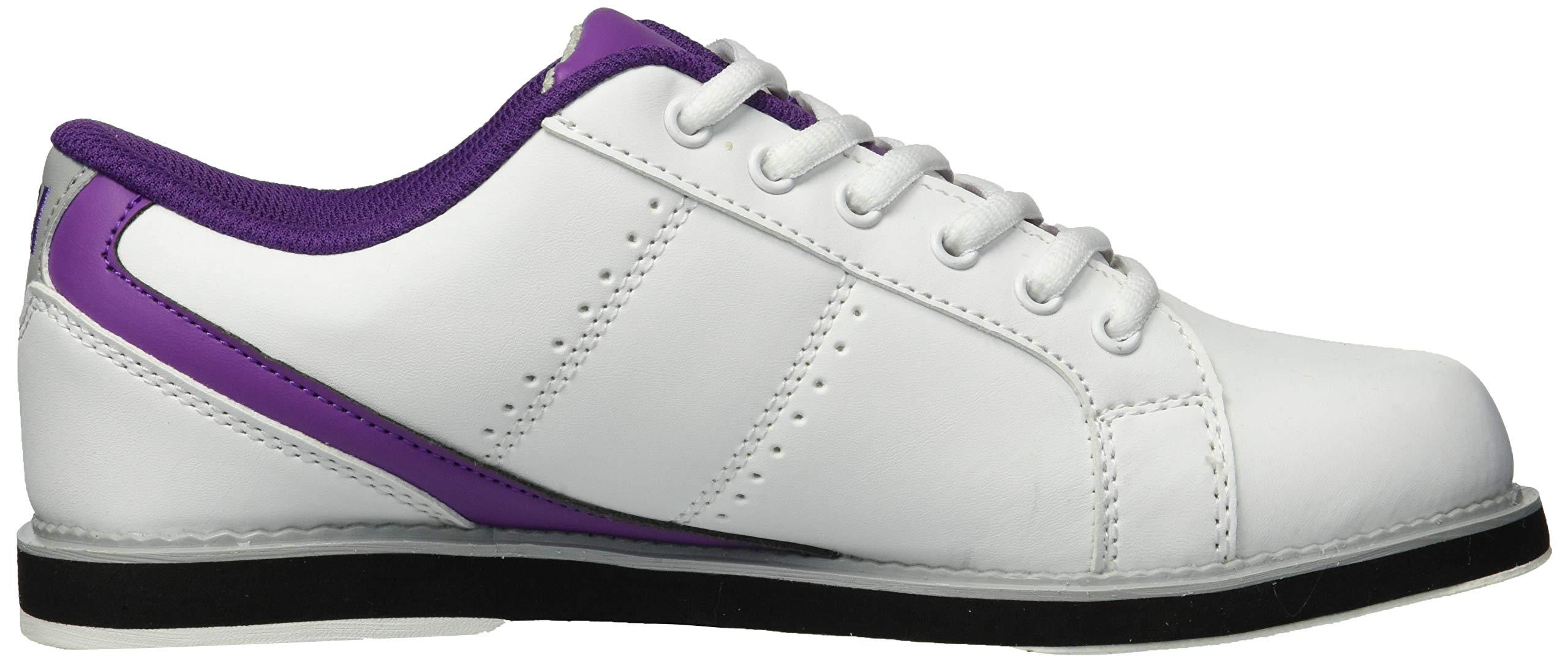 BSI Women's 460 Bowling Shoe, White/Purple, Size 10 by BSI (Image #7)