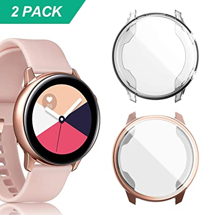 Amazon.com: YUANHOT - Funda para Galaxy Watch Active (2 ...