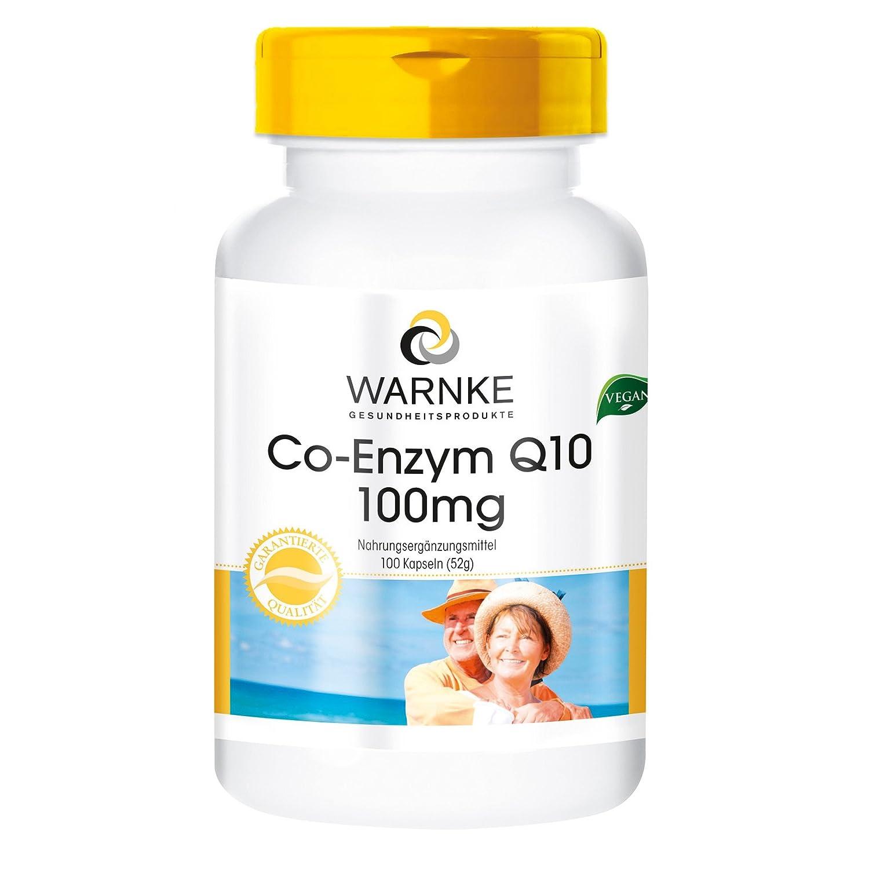 Co–enzima Q10 100mg – 100 comprimidos – Vegano