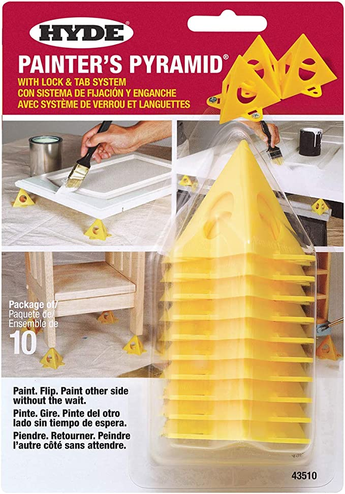 GENUINE HYDE PAINTERS PYRAMIDS 10 PACK OF PYRAMIDS PAINTING ACCESSORY