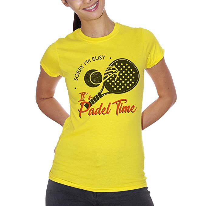 CUC Sorry Im Busy Its Padel Time Sport Tennis Sport - Camiseta ...