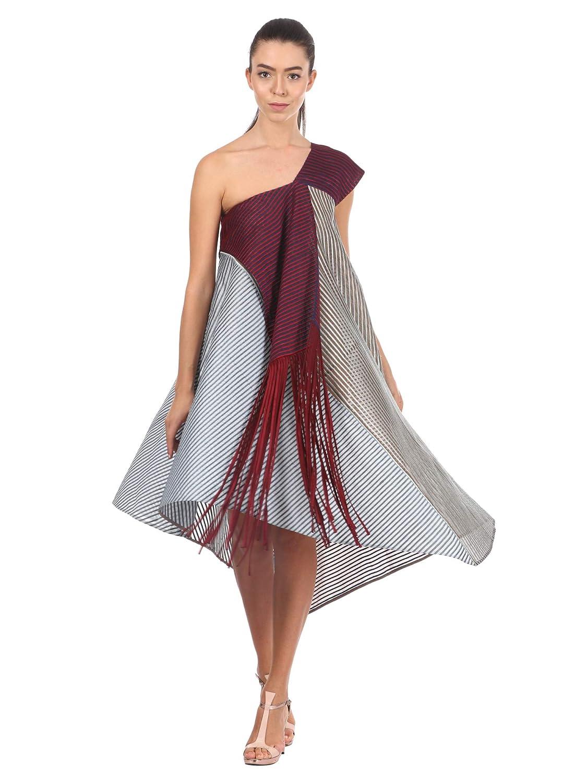 Pankaj and Nidhi Women's Empire Knee-Long Dress