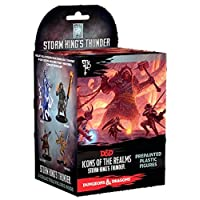Wizkids RPG Miniatures D&D Icons of The Realms Storm Kings Thunder Set 5 Booster Brick