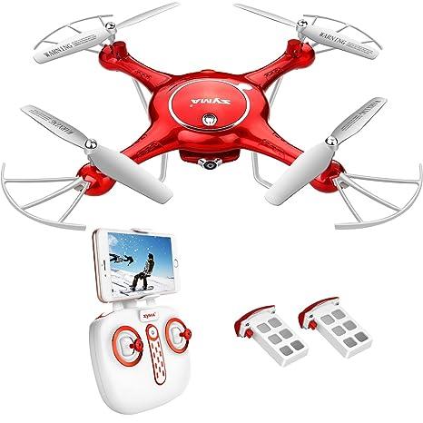 Syma X21W WiFi FPV Mini Drone con cámara Live Video LED Nano ...