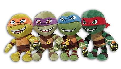 Raphael + Leonardo + Michelangelo y Donatello Pack 4x ...