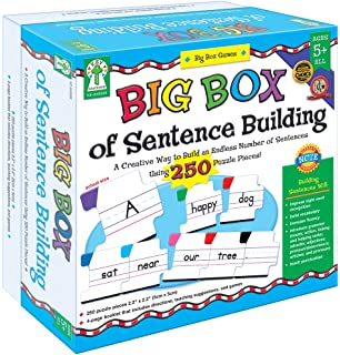image about Sentence Building Games Printable named : Carson Dellosa Sentence Creating Literacy