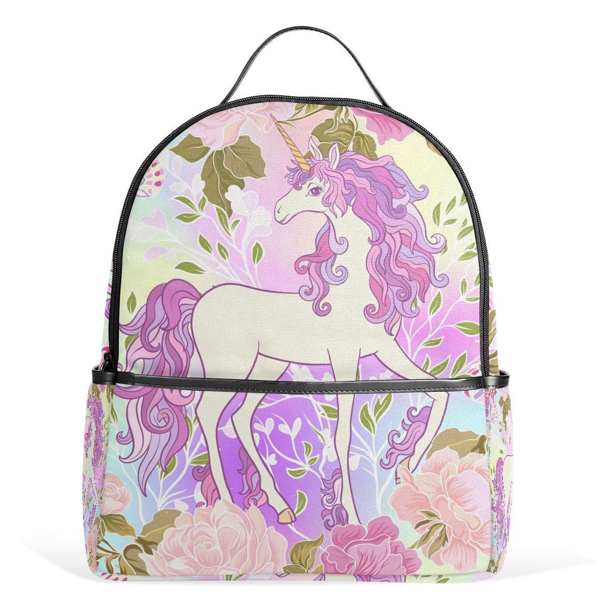 JSTEL Unicorn Mane Butterfly Rainbow Heart School Backpack 4th 5th 6th Grade  for Boys Teen Girls Kids  Amazon.co.uk  Clothing 7e20bcaafd17c