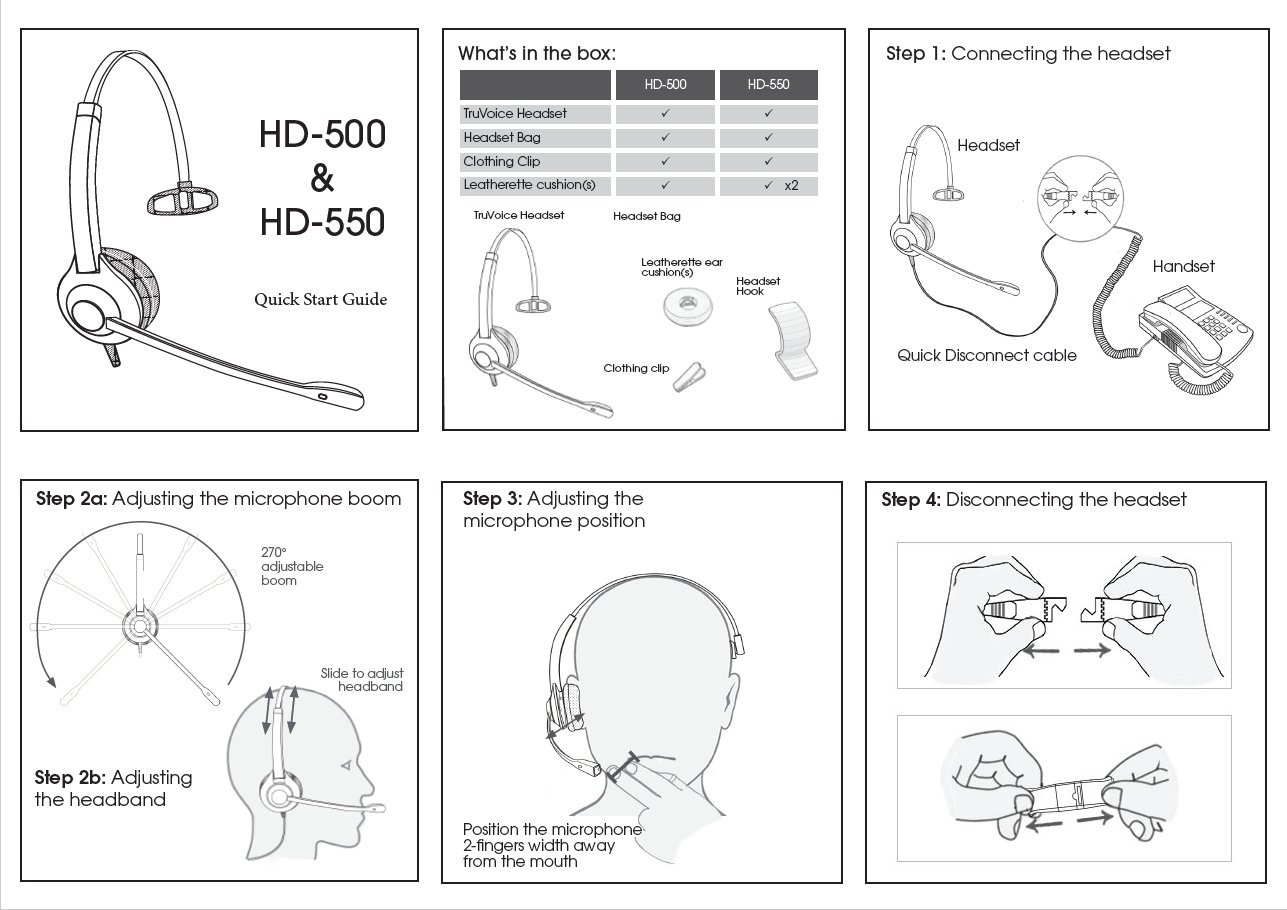 Deluxe Single Ear Noise Canceling Headset For Call Cisco Power Supply Wiring Diagram Center Office With Adapter All 6000 7800 And 8000 Series Phones Also Models