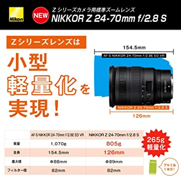 Nikon 24 70mm F 2 8 Nikkor Z S Objektiv Elektronik