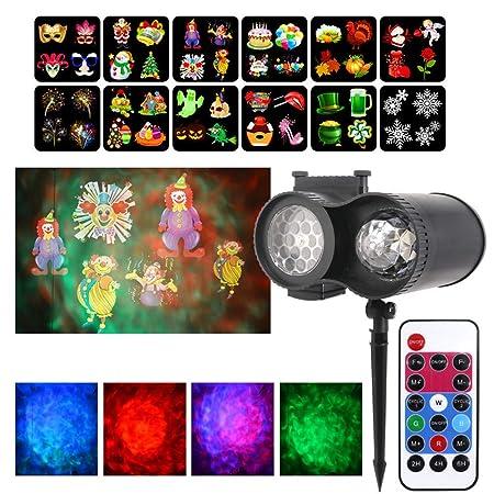 Luz De Proyector De Navidad, Control Remoto LED, Con Control ...