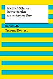 Der Verbrecher aus verlorener Ehre: Reclam XL – Text und Kontext (German Edition)