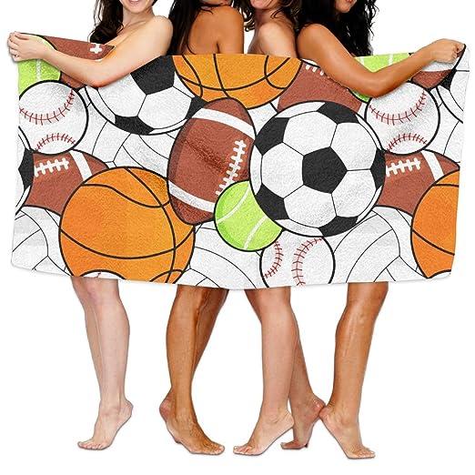 Deportes pelota fútbol Baloncesto béisbol toallas de playa de ...