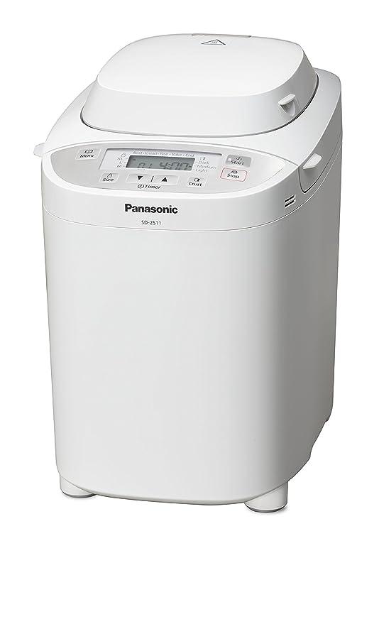 Panasonic SD-2511WXE Panificadora, 550 W, Blanco