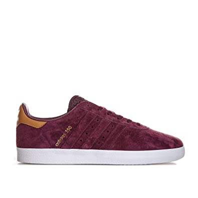 18be9e5bf0e9 adidas Mens Originals Mens 350 Trainers in Burgundy - UK 8  Amazon.co.uk   Shoes   Bags