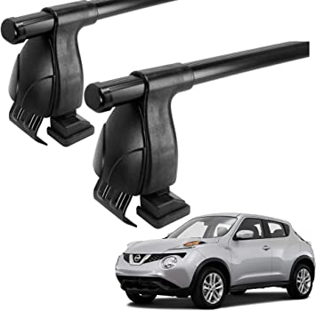 Green Valley - Barras portaequipaje de techo. Compatible con Nissan Juke 2010 - 2019: Amazon.es: Coche y moto