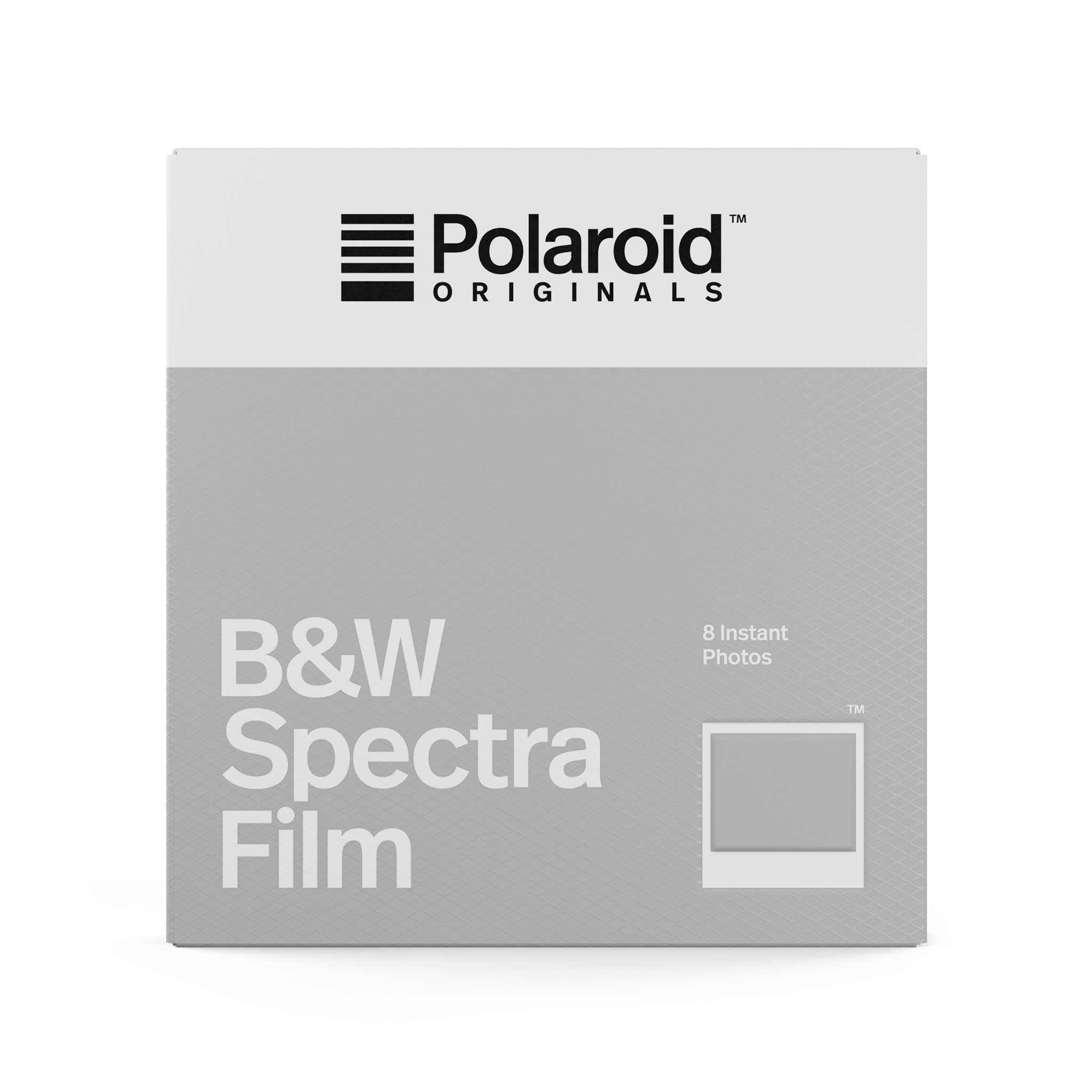 Polaroid Black and White Spectra Film White
