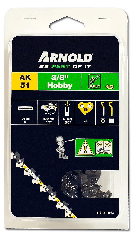 "33 TG MTD//Arnold Sägekette 3//8/"" 20cm Schwert 1191-X1-5033 1.3mm"