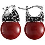Lova Jewelry Glass Pearl Earring