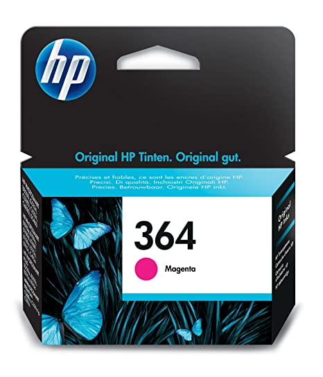 Amazon.com: Hewlett-Packard (HP) Original 364 Magenta Ink ...