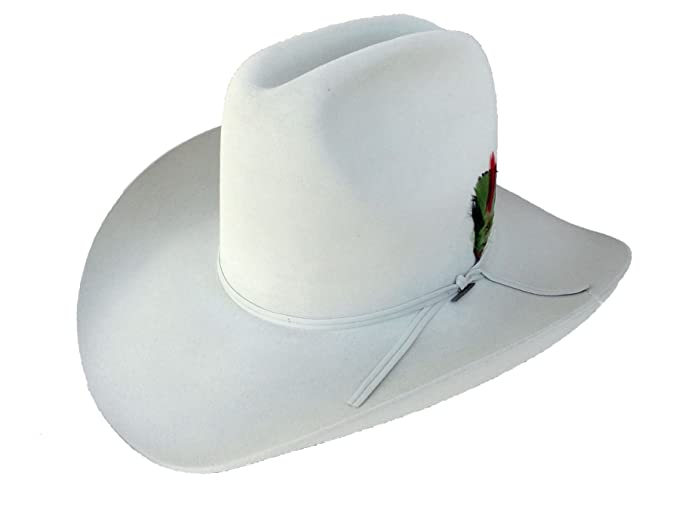 Resistol Cowboy Hat 4X Beaver Fur Felt Silver Belly Quarter Horse 60  7 5  c69c464bc5b7