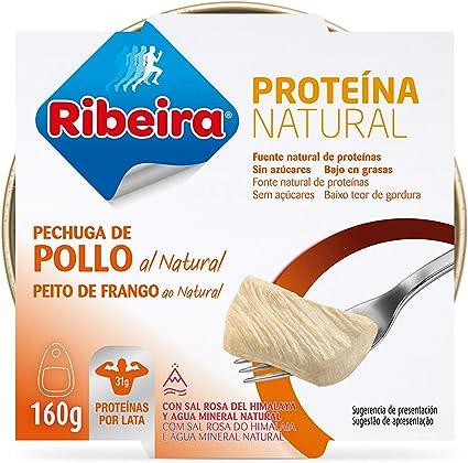 Ribeira Proteina Natural - Pechuga de Pollo al natural - 1 ...