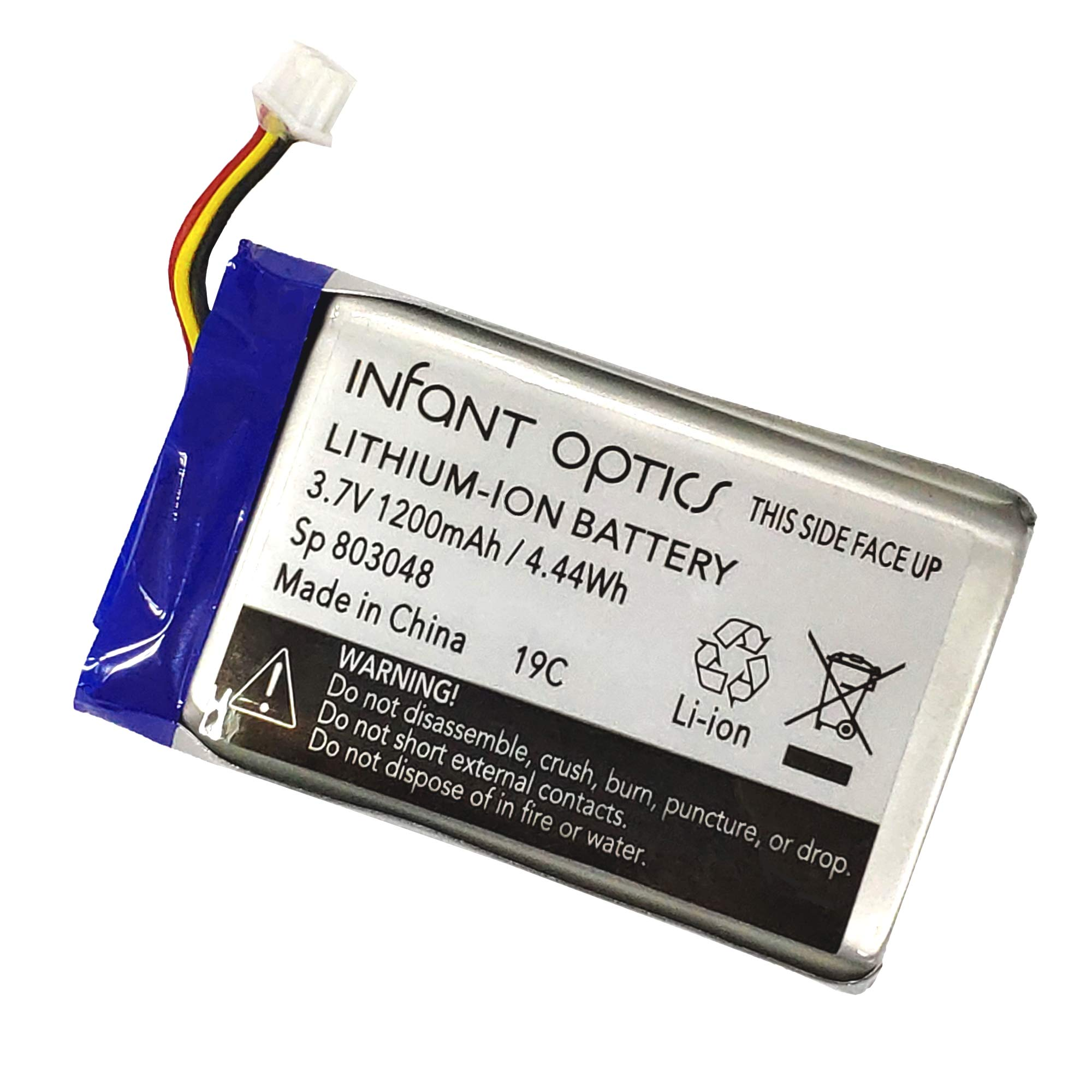 Infant Optics DXR-8 Rechargeable Battery (Infant Optics Official Accessory) (Will NOT Void Warranty)