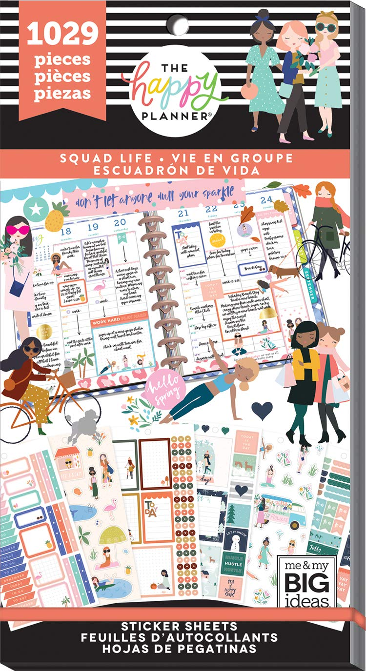 The Happy Planner - Sticker Squad Life Value Pack