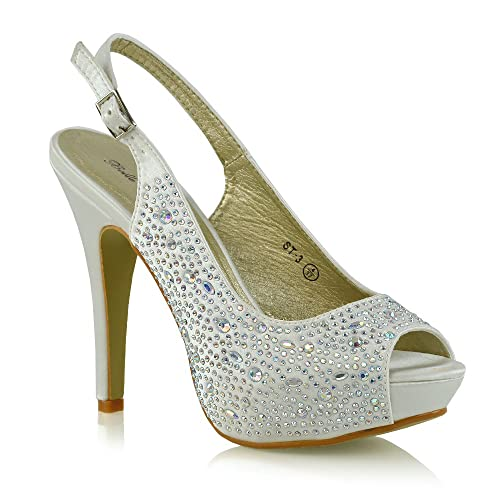 SKO'S Zapatos de Tacón Chica Mujer, Color, Talla 40 EU