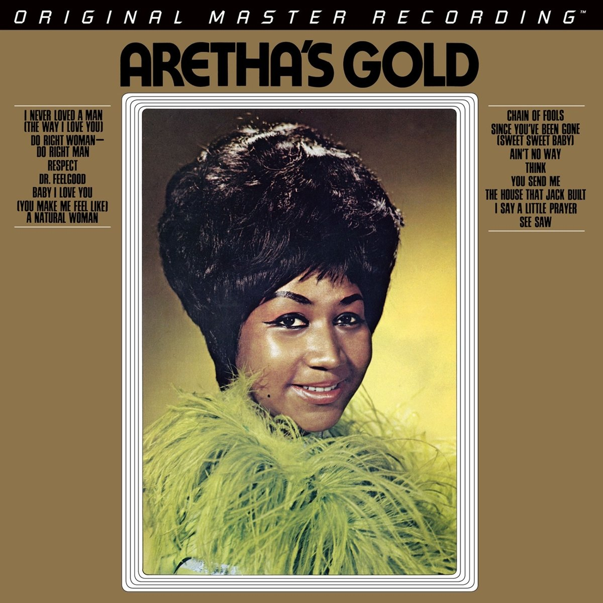 Aretha's Gold by Mobile Fidelity