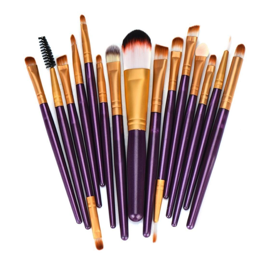 Ineternet 15pcs Laine Maquillage Brush Set Internet 8810