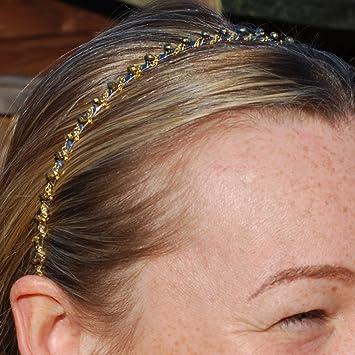 Kristall Haarband Hochzeit Haarschmuck Stirnband Haarreif Schwarz