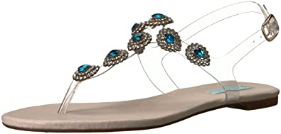Betsey Johnson Blue by Gabbi Flat Sandals Women's Shoes